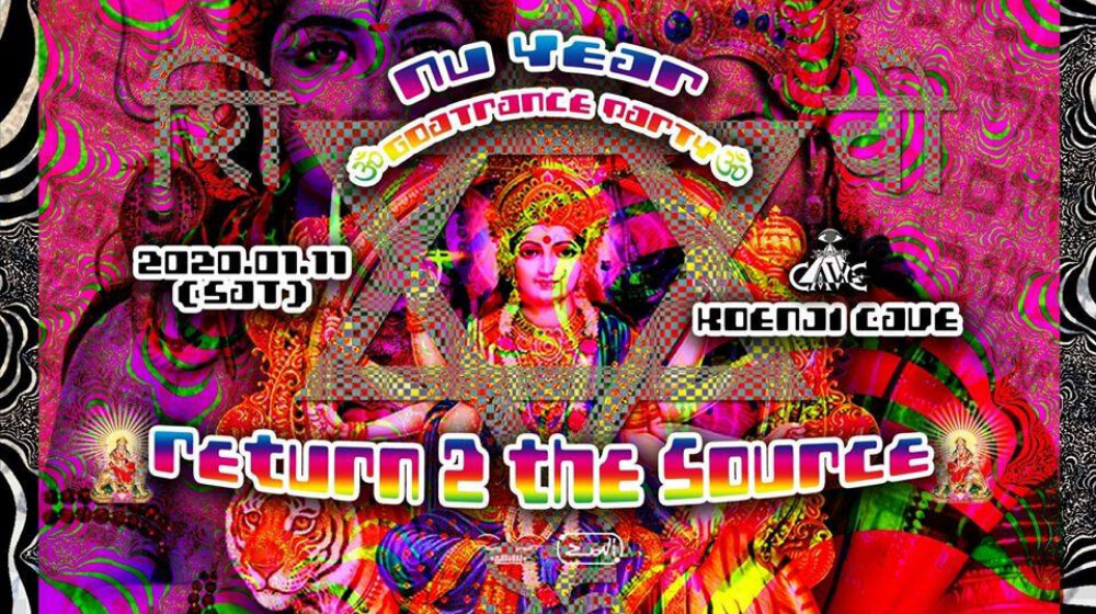 Nu Year Goa Trance Party 2020